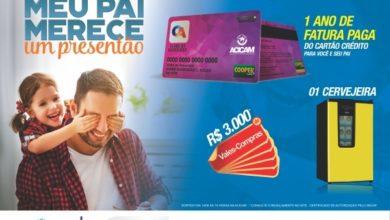 Photo of Dia dos Pais tem sorteio de cartão de crédito pago pela Acicam por 1 ano
