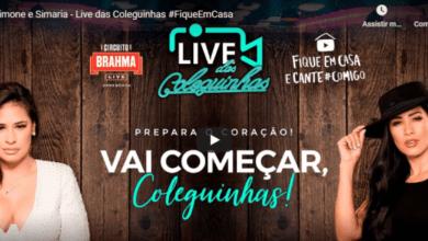 Photo of Live das Coleguinhas: confira como foi a live de Simone e Simaria
