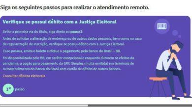 Photo of TSE lança site para regularização de título de eleitor