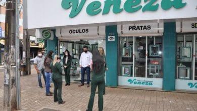 Photo of Empresas de Campo Mourão aderiram ao Momento de Oração; fotos