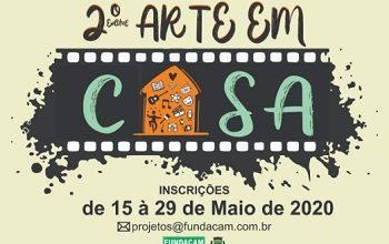 Photo of Fundação Cultural lança 2º edital Arte em Casa