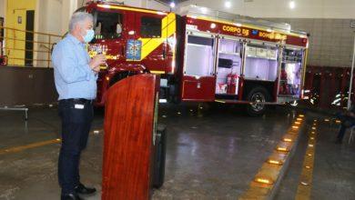 Foto de Douglas Fabrício destaca projeto de elevação do Subgrupamento dos Bombeiros de C. Mourão