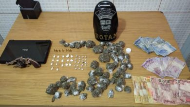 Photo of Rapaz preso com drogas, armas e munições. Confira as principais ocorrências da 2ª feira