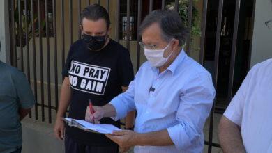 Photo of Prefeito Tauillo assinou ordem de serviço para asfalto no Jardim Pio XII