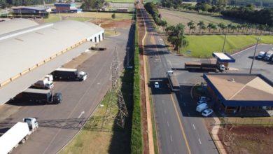 Photo of Prefeitura entrega obra de pavimentação da estrada de acesso ao Parque Industrial da Coamo