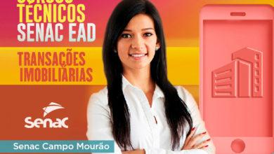 Photo of Faça o curso Técnico em Transações Imobiliárias EAD pelo Senac; inscrições abertas