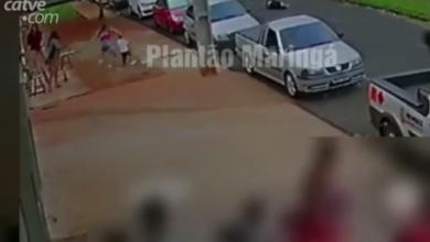 Photo of Vídeo mostra homem sendo executado a tiros em Maringá