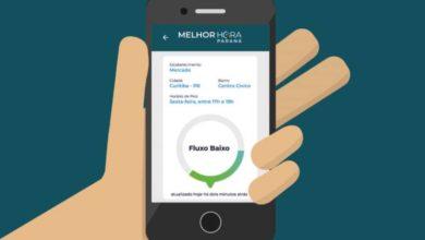 Foto de Aplicativo mostra horários com menor movimento em farmácias e supermercados no Paraná