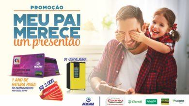 Photo of Empresas participantes de campanha dos Dias dos Pais da Acicam também sorteiam prêmios próprios