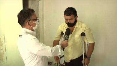 Photo of Sem familiares em C. Mourão, vítima de acidente de trânsito precisa de ajuda; vídeo