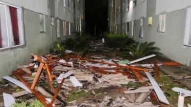 Photo of Vídeo mostra momento em que ciclone atinge condomínio em Curitiba