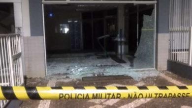 Foto de Bandidos explodem banco e aterrorizam moradores no Norte do Paraná