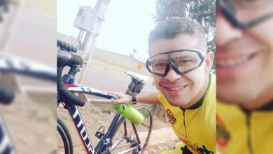 Foto de PM morre atropelado por ônibus enquanto andava de bicicleta na PR-160