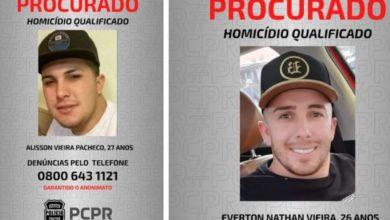 Foto de Polícia pede ajuda para encontrar irmãos foragidos por assassinato no Paraná